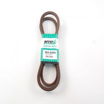 remen pogona noževa, tip B x 1728 mm, MTD traktori serije 400/E/B od 1992 (754-0364)