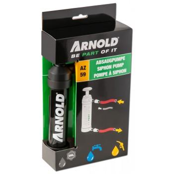 protočna pumpa za izvlačenje ulja i/ili goriva iz vrtnih strojeva
