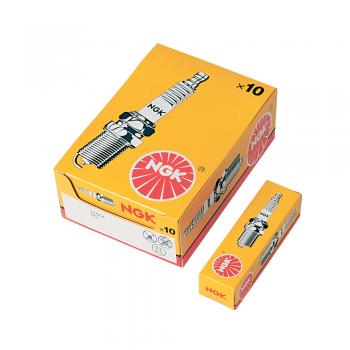 svjećica NGK B6HS, originalna, 21 mm, ravni dosjed, srednji navoj, kutija 10 komada